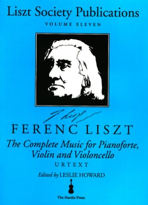 Complete music for piano, violin, violoncello LISZT laflutedepan