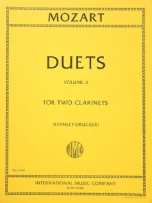 6 Duets - Volume 2 - 2 Clarinets - MOZART - laflutedepan.com
