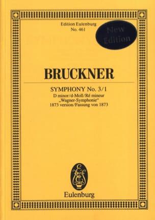 Sinfonie Nr. 3/1 D-Moll BRUCKNER Partition Petit format - laflutedepan