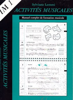 Activités musicales - IM1 Sylviane Lemmi Partition laflutedepan