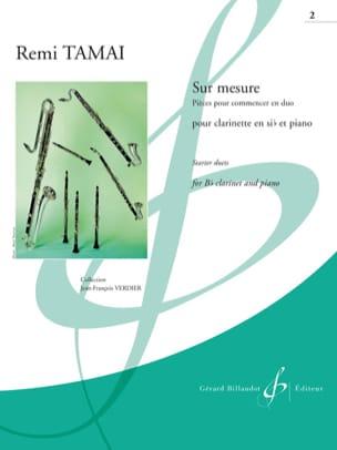 Sur Mesure Vol. 2 - Clarinette et Piano Rémi Tamai laflutedepan