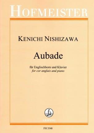 Aubade Kenichi Nishizawa Partition Hautbois - laflutedepan