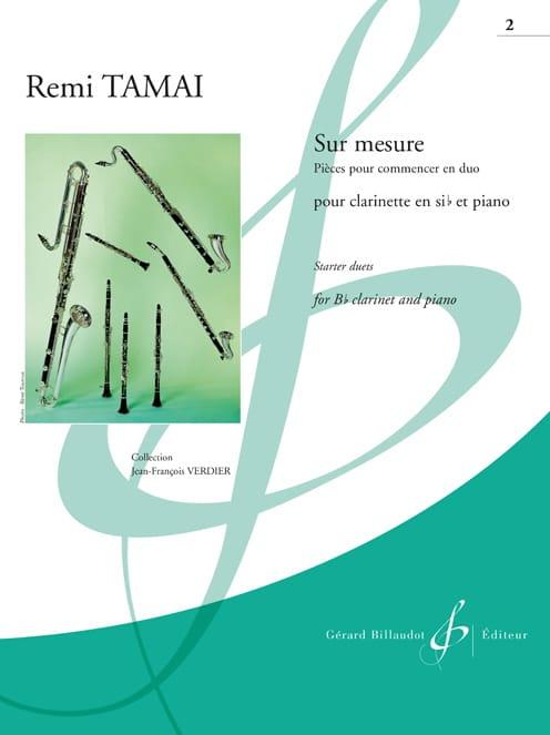 Sur Mesure Vol. 2 - Clarinette et Piano - laflutedepan.com