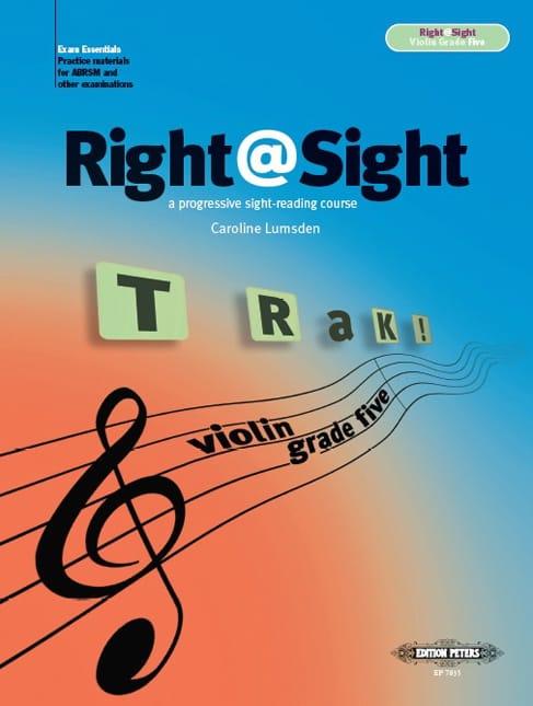 Right@Sight - Violon Grade 5 - Caroline Lumsden - laflutedepan.com