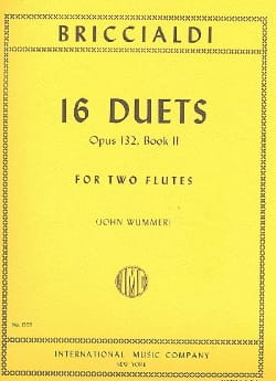 16 Duets op. 132 - Book 2 - 2 Flutes Giulio Briccialdi laflutedepan