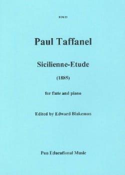 Sicilienne-étude - Paul Taffanel - Partition - laflutedepan.com