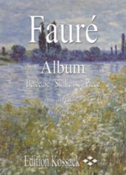 Album - Flûte et piano FAURÉ Partition laflutedepan