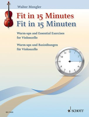 Fit in 15 Minutes - Violoncelle Walter Mengler Partition laflutedepan