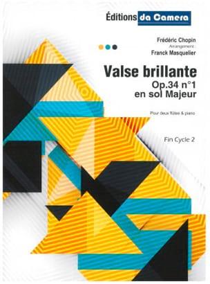Valse Brillante, op. 34 n° 1 CHOPIN Partition Trios - laflutedepan