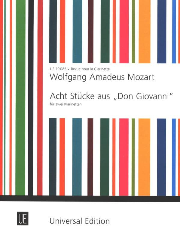 Acht Stücke aus Don Giovanni - 2 Klarinetten - laflutedepan.com