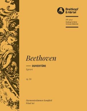 Ouverture Egmont op. 84 - Harm. BEETHOVEN Partition laflutedepan