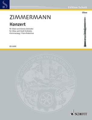 Oboen-Konzert -Oboe Klavier Bernd Alois Zimmermann laflutedepan