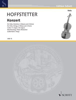 Concerto en ut majeur - Roman Hoffstetter - laflutedepan.com