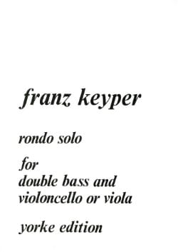 Rondo Solo for double bass and cello or viola laflutedepan