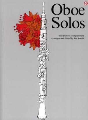 Oboe Solos Jay Arnold Partition Hautbois - laflutedepan