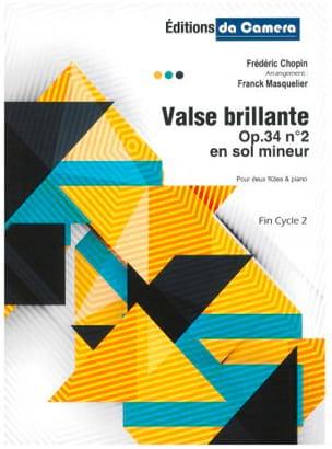 Valse Brillante, op. 34 n° 2 CHOPIN Partition Trios - laflutedepan