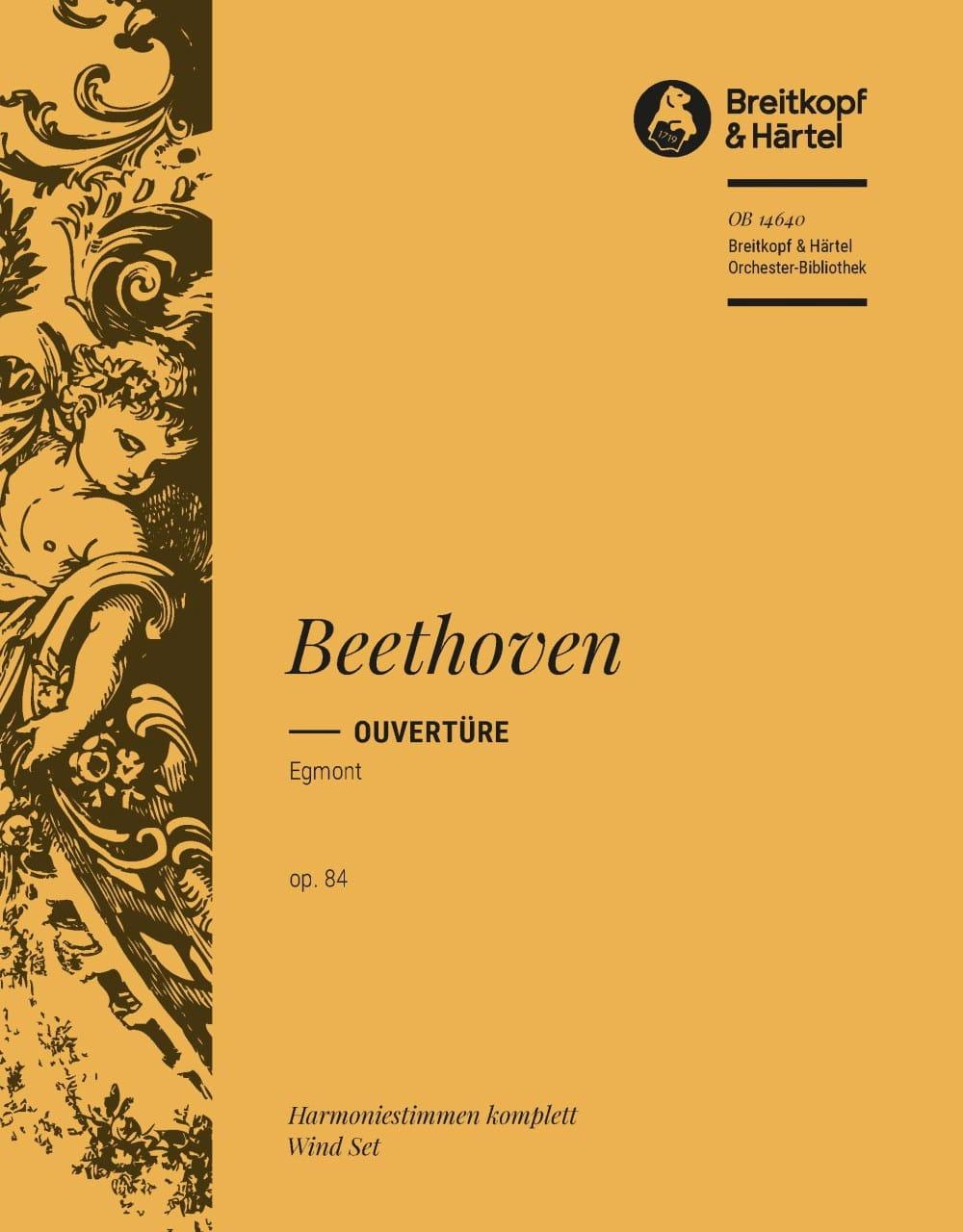 Ouverture Egmont op. 84 - Harm. - BEETHOVEN - laflutedepan.com