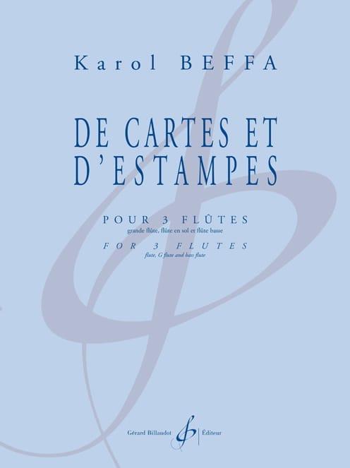 De Cartes et d'Estampes - Karol Beffa - Partition - laflutedepan.com