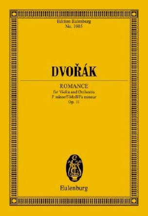 Romance, opus 11 - Antonin Dvorak - Partition - laflutedepan.com