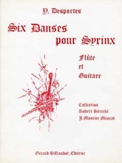 6 Danses Pour Syrinx Yvonne Desportes Partition Duos - laflutedepan