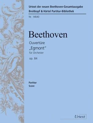 Ouverture Egmont op. 84 - Partitur BEETHOVEN Partition laflutedepan