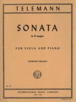 TELEMANN - Sonata en re mayor - Partition - di-arezzo.es