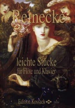 Leichte Stücke fur Flöte und Klavier Carl Reinecke laflutedepan