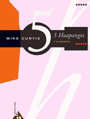 5 Huapangos Mike Curtis Partition Clarinette - laflutedepan