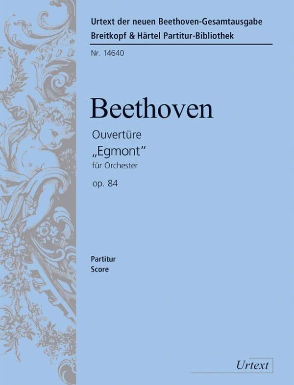 Ouverture Egmont op. 84 - Partitur - BEETHOVEN - laflutedepan.com