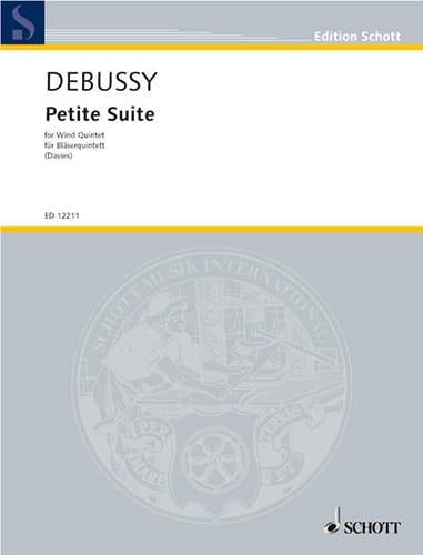 Petite suite - Bläserquintett - DEBUSSY - laflutedepan.com