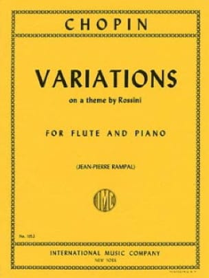 Variations on a theme by Rossini - Flute piano - laflutedepan.com