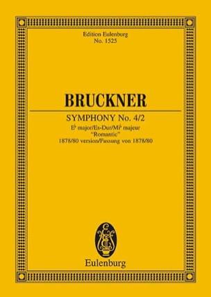 Sinfonie Nr. 4/2 Es-Dur BRUCKNER Partition Petit format - laflutedepan