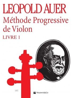 Méthode de Violon Volume 1 Léopold Auer Partition laflutedepan
