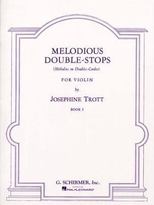Melodious double-stops - Volume 1 Josephine Trott laflutedepan