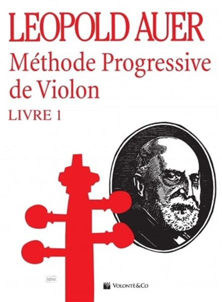 Méthode de Violon Volume 1 - Léopold Auer - laflutedepan.com