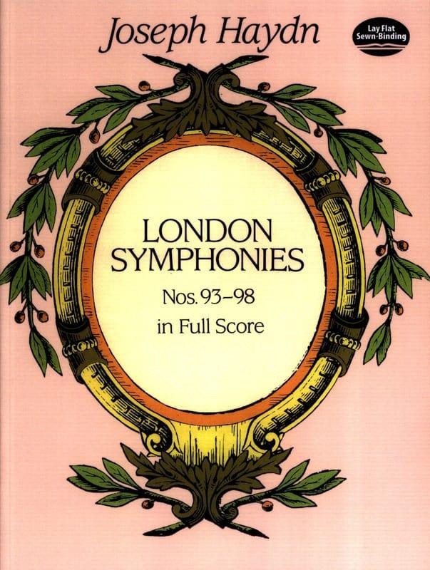 London Symphonies N°93 à 98 - Full Score - HAYDN - laflutedepan.com