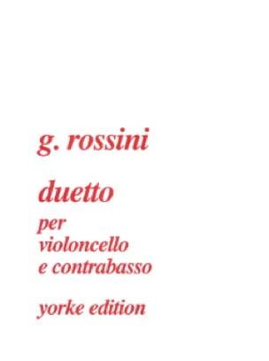 Duetto per cello e contrabasso - ROSSINI - laflutedepan.com