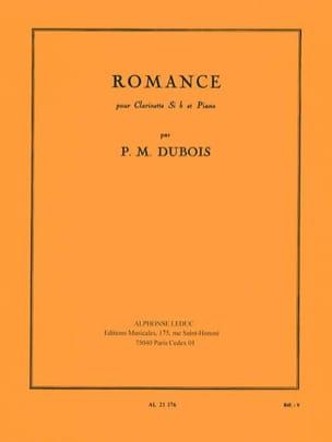 Romance - Pierre-Max Dubois - Partition - laflutedepan.com
