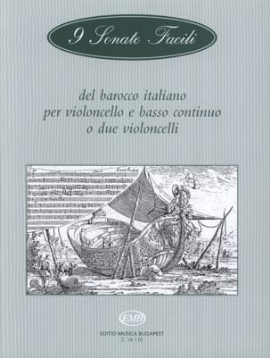9 Sonate facili del barocco italiano -Cello laflutedepan