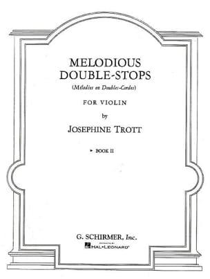 Melodious double stops - Volume 2 - Josephine Trott - laflutedepan.com
