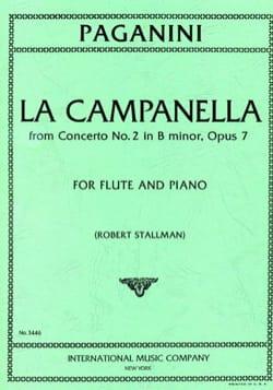 La Campanella From Concerto N°2, Op. 7 - Flûte et Piano laflutedepan