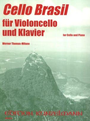 Cello Brasil Werner Thomas-Mifune Partition Violoncelle - laflutedepan