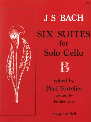 BACH - 6 Cello Suites Only Tortelier - Partition - di-arezzo.co.uk