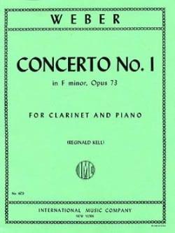 Concerto Clarinet n° 1 in F Minor op. 73 laflutedepan