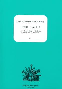 Octet op. 216 -Score + parts Carl Reinecke Partition laflutedepan