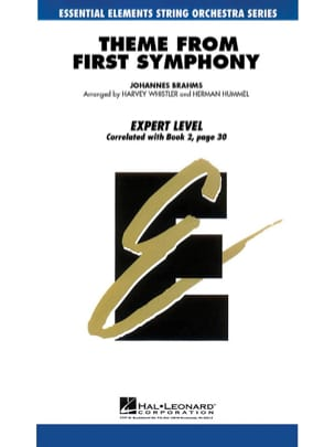 Theme From First Symphony - Score & Parts BRAHMS laflutedepan