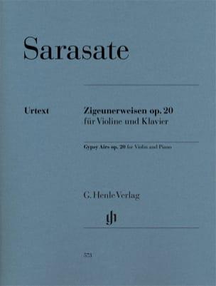 Airs bohémiens op. 20 pour violon et piano SARASATE laflutedepan
