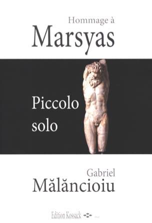 Hommage à Marsyas - Piccolo solo Gabriel Malancioiu laflutedepan