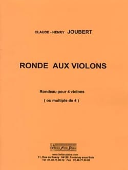 Claude-Henry Joubert - Ronde aux Violons - Partition - di-arezzo.fr