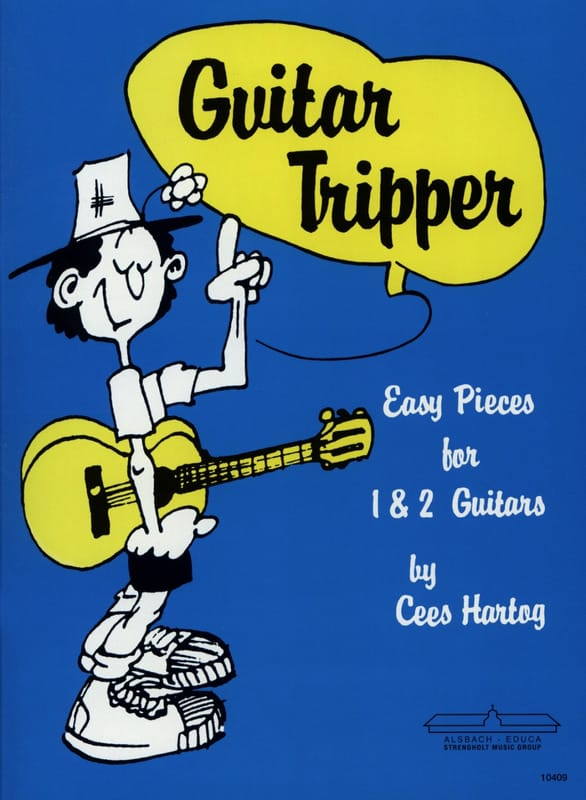 Guitar Tripper - Cees Hartog - Partition - Guitare - laflutedepan.com